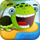 A Beach of Happy Frog & Friends Goes Boom FREE