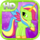 Little Magic Unicorn Dash HD: My Pretty Pony Princess vs Shark Tornado Attack Game - All FREE